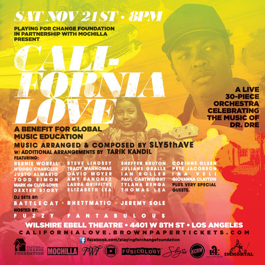 You heard it from us first! California Love, huge show huge line-up... Do not miss https://t.co/TYu5PmMB1L
