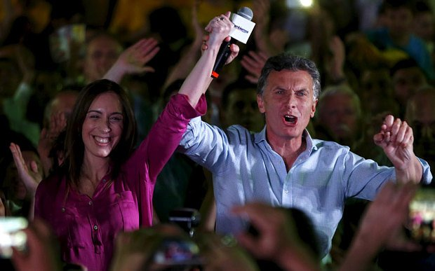 Argentina elections: Shock as Mauricio Macri defeats Daniel Scioli and forces second round https://t.co/LZVVu5AGjP https://t.co/Th3pxkWEaA