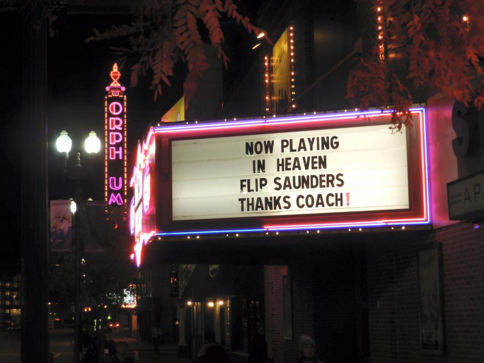 Kudos to @BNWImprov for putting this up.   #RIPFlip https://t.co/FPb6P7b7aD