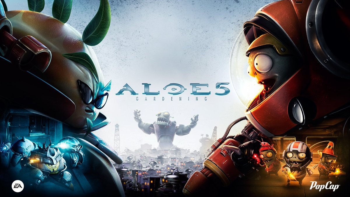 Plants vs. Zombies (@PlantsvsZombies): #PvZGW2 Z7 Imp and Iron Citron join the hunt @Halo @Xbox https://t.co/aWyxz36GFK