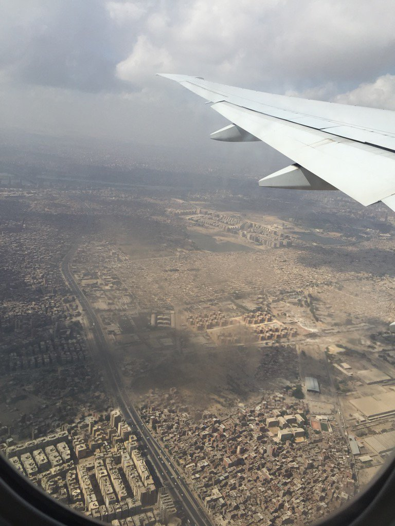 Just landed in Cairo, Egypt!!!