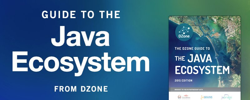 Introducing the new, DZone Guide to the Java Ecosystem https://t.co/1hlzVHKZoq #java https://t.co/r62qq4FeA3