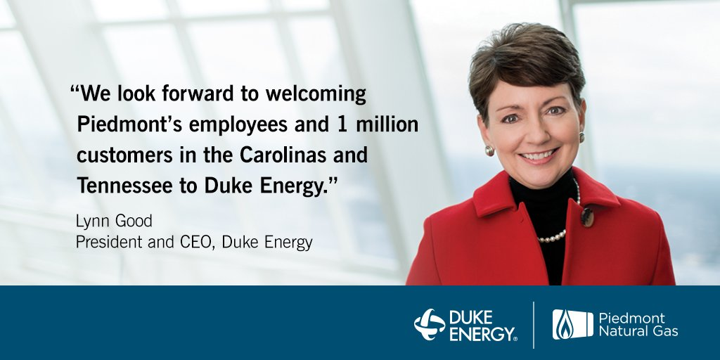 Duke Energy to acquire Piedmont Natural Gas for $4.9 billion in cash | https://t.co/3RjbdKUsUR https://t.co/X7rXa8rMhz