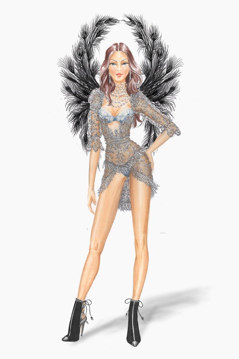 RT @BritishVogue: EXCLUSIVE: @VictoriasSecret show costume reveal - https://t.co/LITj5OTN16 https://t.co/xLHKCLCJTr