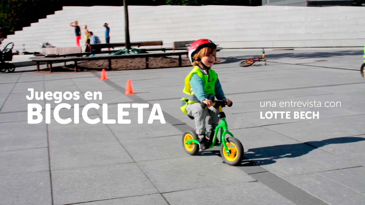 Integrar la bici en la cultura: Empezar con los niños y hacerlo divertido. @CyclingEmbassy https://t.co/L1TLWjNsbR https://t.co/8QHnRbMUbN