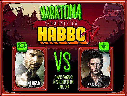 I Duelo da Maratona Terrorífica HB TV: RT p/ The Walking Dead / FAV para Supernatural! 18hBR/21hPT sai o resultado! https://t.co/kiDV9VGz6b