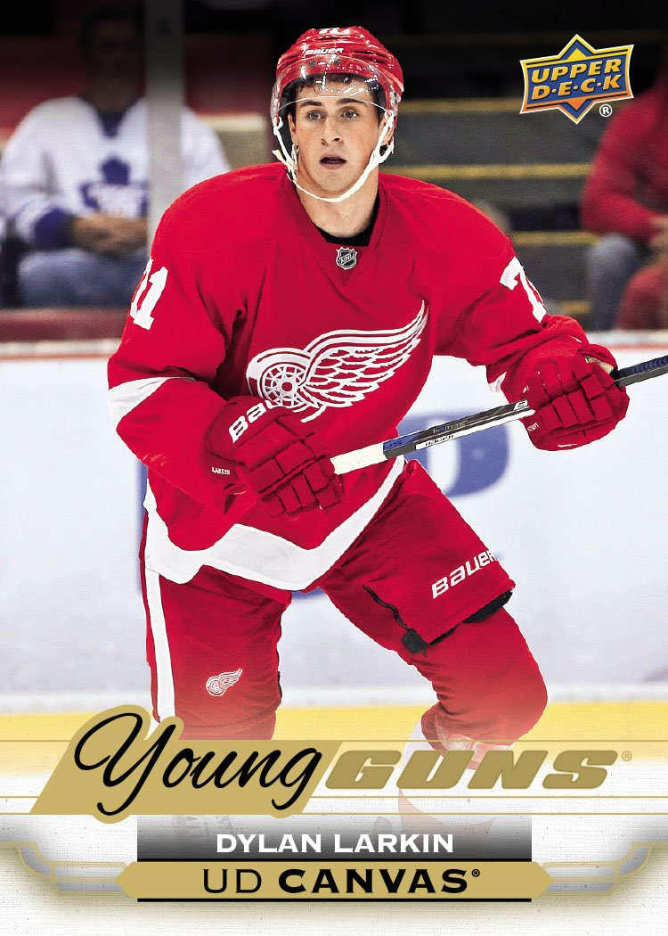 @DetroitRedWings fans, check out the #YoungGuns rookie card of @Dylanlarkin39 in 15-16 NHL UD1 available on 11/5! https://t.co/KKBMyEyVc2