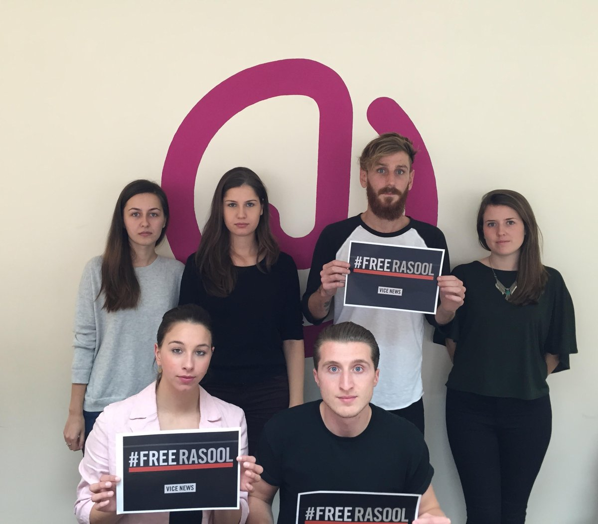 Journalism is not a crime. We've signed the petition to #FreeRasool  https://t.co/m2dSViQIbo https://t.co/PcERF3gRI9