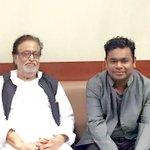 Namaskar. Aaj Mashhoor Sangeetkar A R Rahman ji ko Hridaynath ke naam ka puraskar diya gaya. https://t.co/Js3r5IZDua