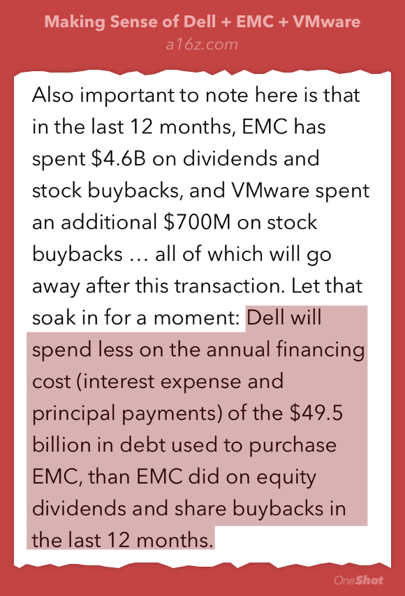 Great look at the Dell-EMC deal structure, VMW, and the rise of activist hedge funds https://t.co/YbJwKQHWEU https://t.co/QYAOBnDpv3