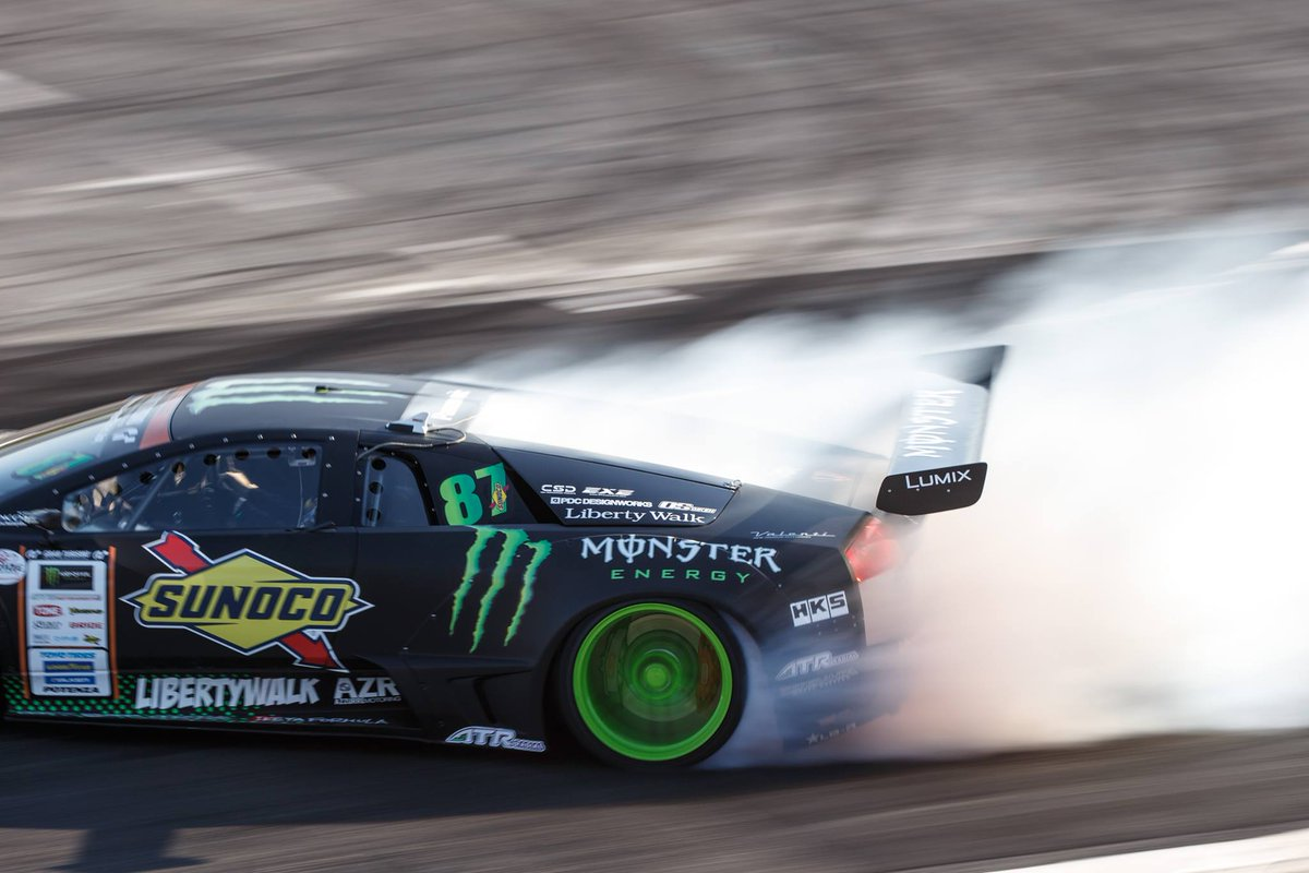 Monster Energy Unleashed The World S First Lamborghini Drift Car