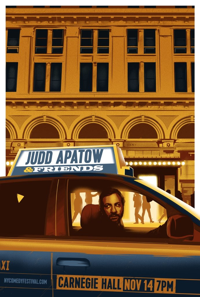 RT @JuddApatow: Want to win tickets & a trip to NY for my Carnegie Hall show? Help @everytown   https://t.co/XjOAvYT9p7 https://t.co/SXutFw…