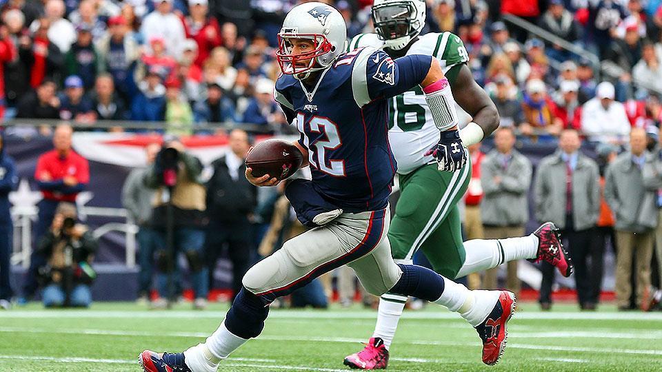 Tom Brady Ties Bo Jackson In Career Rushing Tds Plus More Week 7