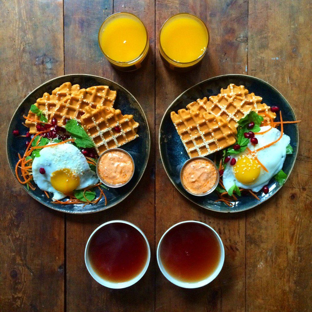 RT @symmetry_fast: Harissa waffles from @jamieoliver's new book, maxed out of flavour these!! ???????????? https://t.co/ksARfmuOSV