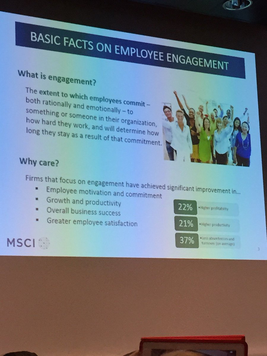 Learning about tech that drives employee engagement w/ Kevin from MSCI. #HRTechWorld https://t.co/ohSSep9TS1 https://t.co/Kky62rqfTi