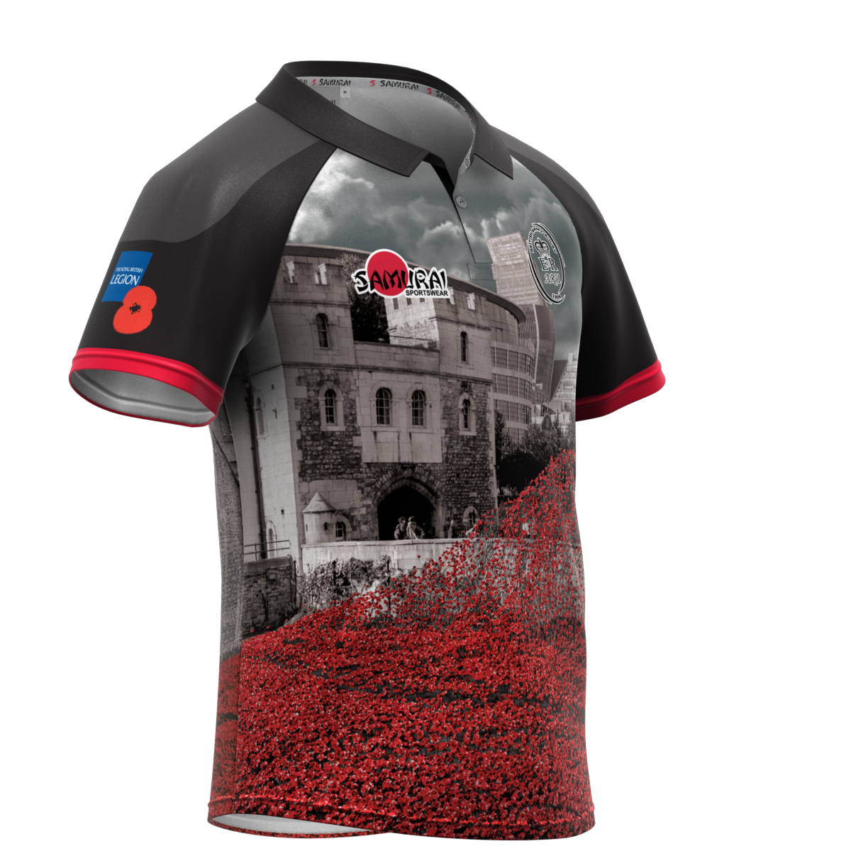 Very proud to launch our 6th annual #poppyshirt @samurai_sports 'In Flanders Fields' https://t.co/mlj4HXkPB1 https://t.co/Na72pmVrwo