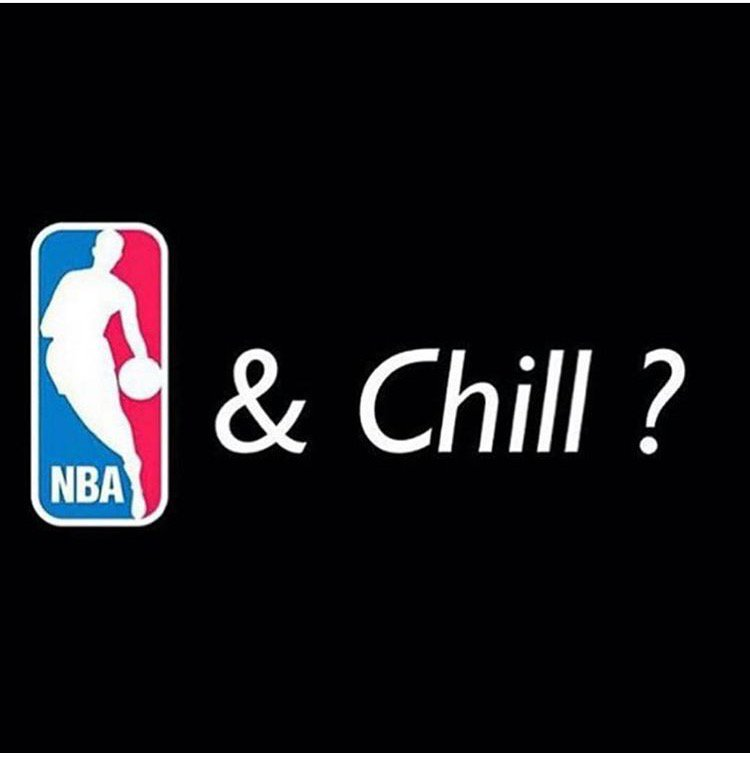 The best time of the year... #NBAAndChill Lol