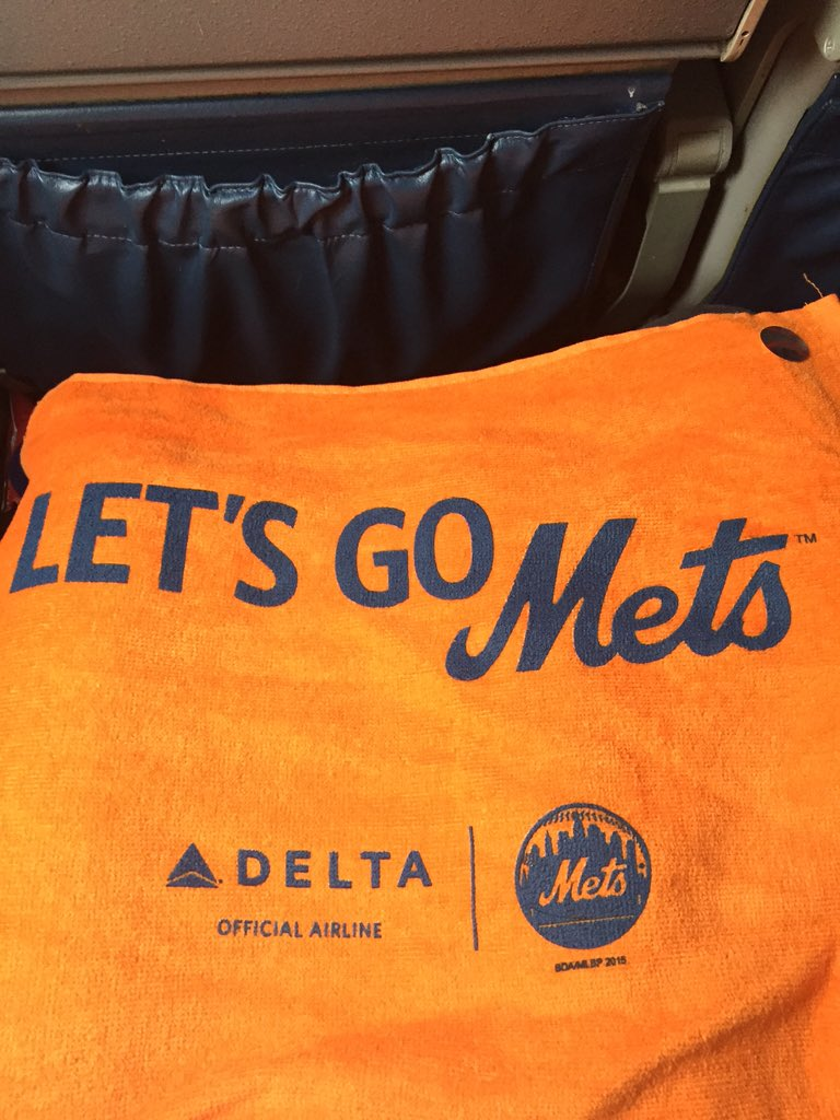 Wheels down ✈️ Thanks for bringing me to Kansas City @delta! #LGM #WorldSeries #DeltaMetsSweeps #OttogrlInKC https://t.co/cF0B9Q8oXs