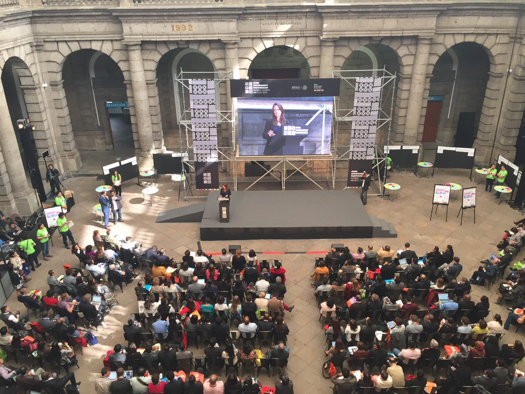 #CivilSociety Day at #OGP15 has started! https://t.co/W7H8bKgCDl