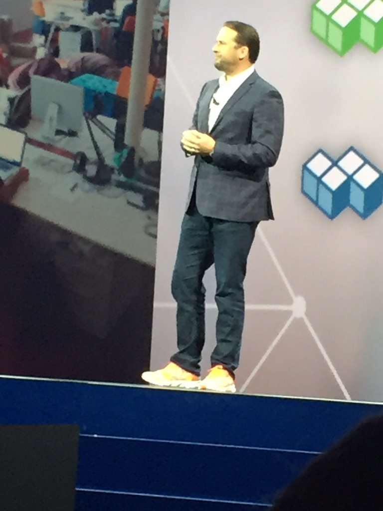 IBM is becoming cool! Look at the shoes of a GM at IBM #analyticsforall. No more suites and dress shoes. https://t.co/E8MazkXrQg