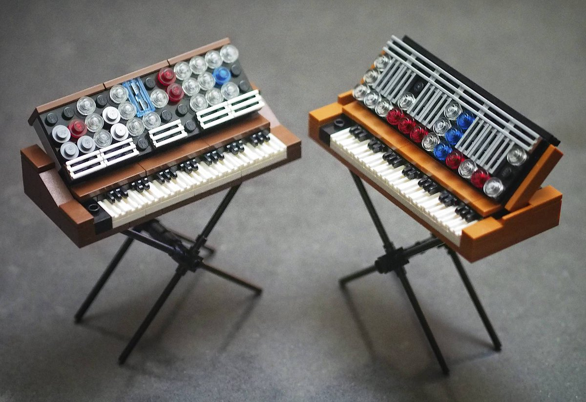 Check out this amazing Minimoog #LEGO set, and help make it real https://t.co/wkKYjg0oxe https://t.co/XhgDC0HMXz