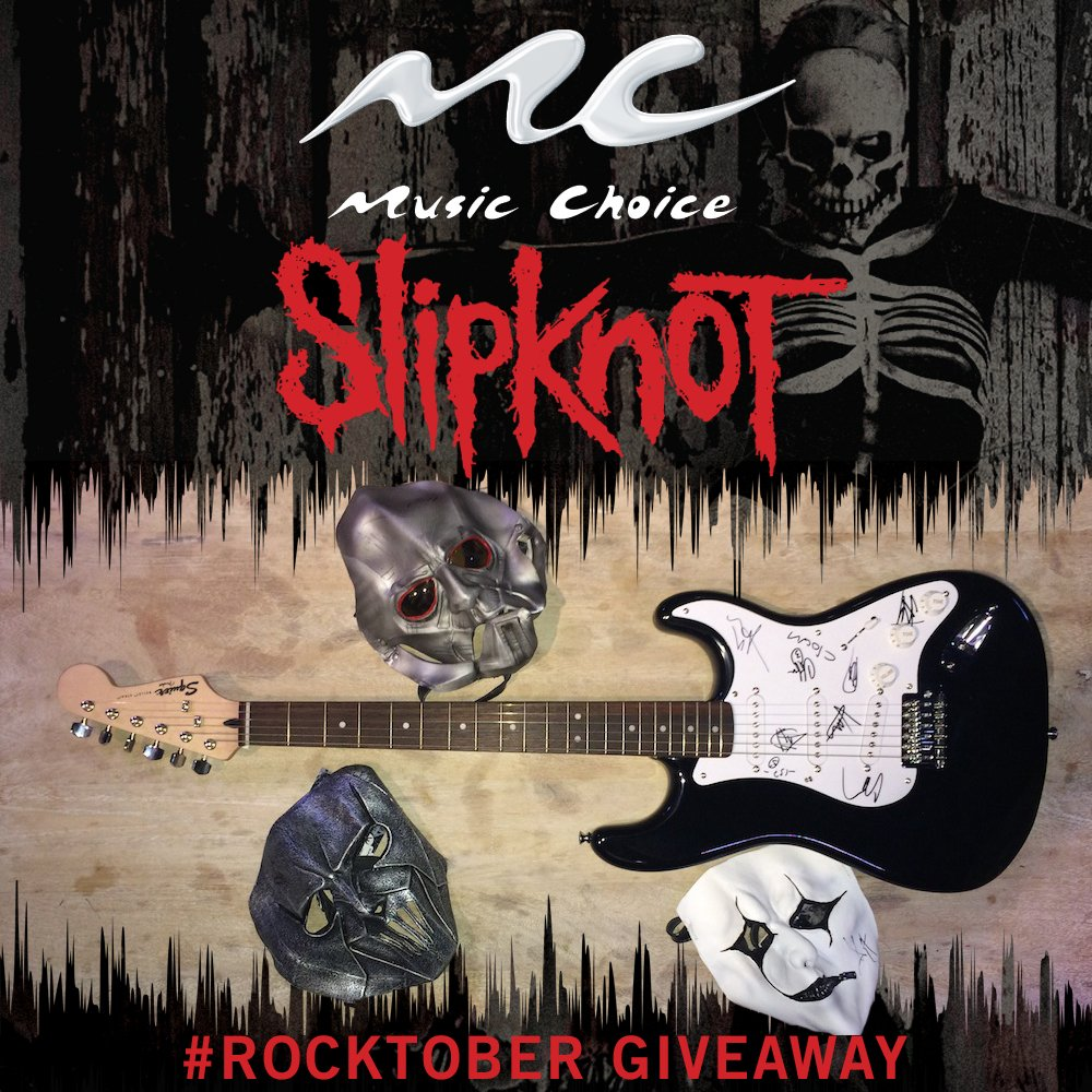 We're wrapping up #Rocktober with @MusicChoice! RT or fave to win a signed guitar + masks! https://t.co/4VVeBYAn3P https://t.co/eMUkfFE6xL