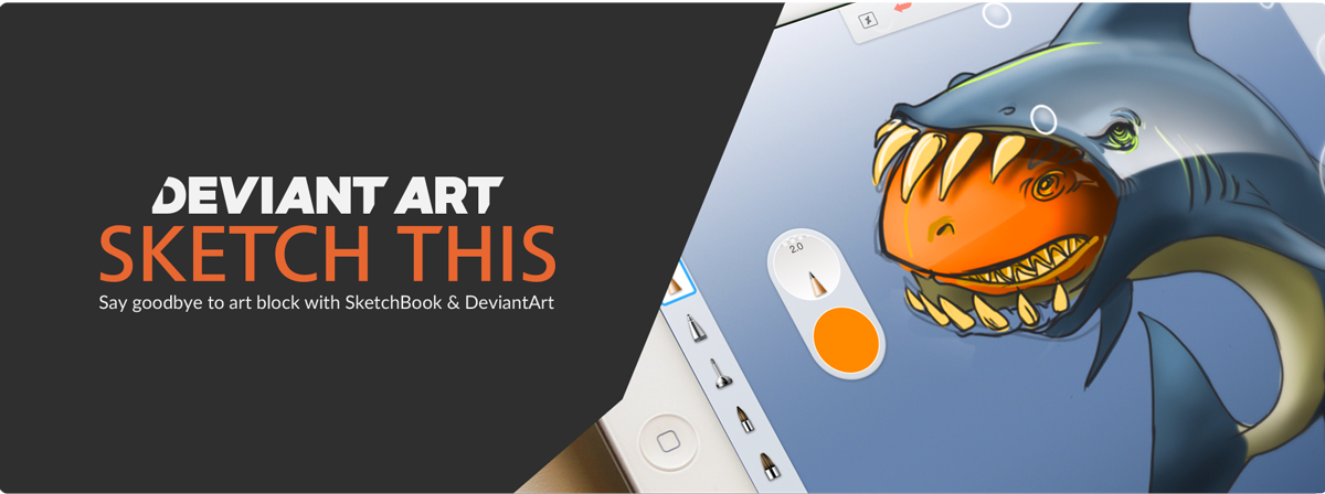 Say goodbye to art block: introducing Sketch This, powered by @DeviantArt​. For mobile : https://t.co/bonyDziYYG https://t.co/IuQujb3Ngs