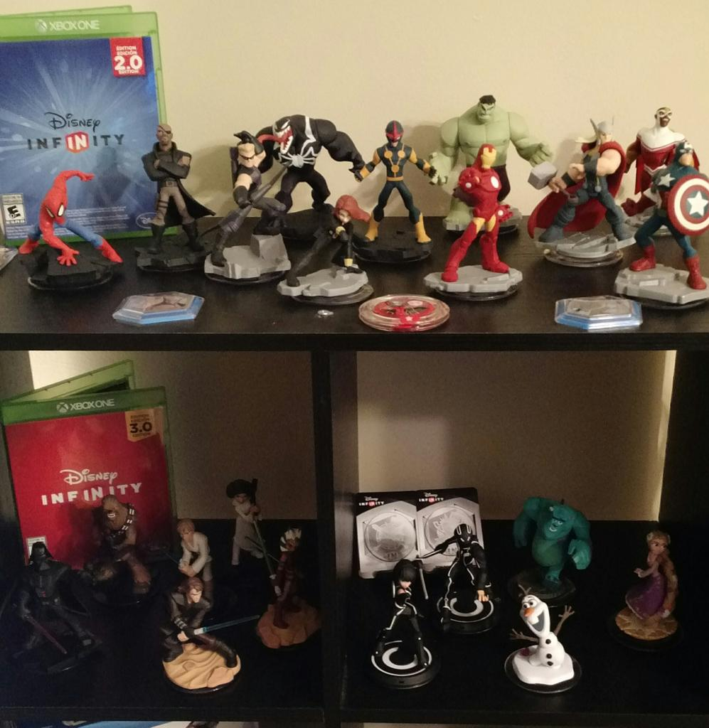 My girlfriend and I absolutely love @DisneyInfinity - it turned her into a gamer! Play together, stay together! https://t.co/KGjY3mDa96
