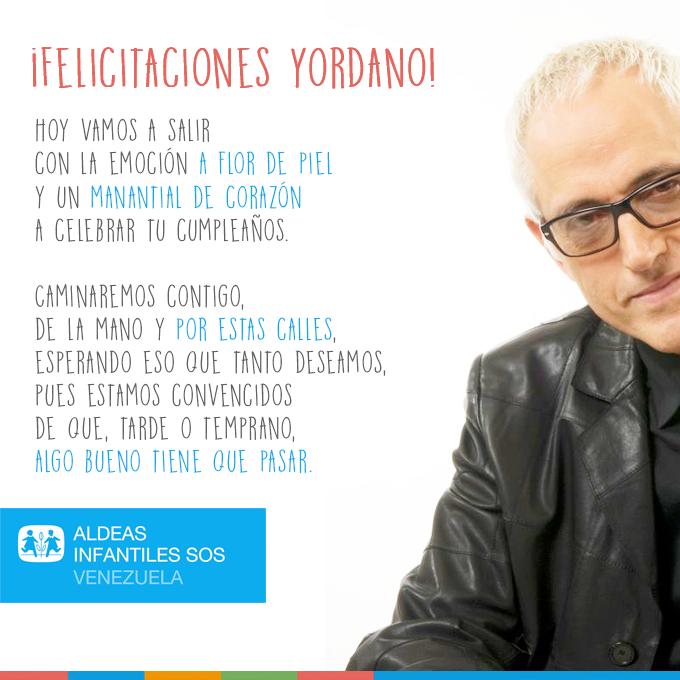 Feliz cumpleaños @YordanoOficial. Eres un ser humano único, hecho de madera fina ♡ https://t.co/3EaxjgicLz