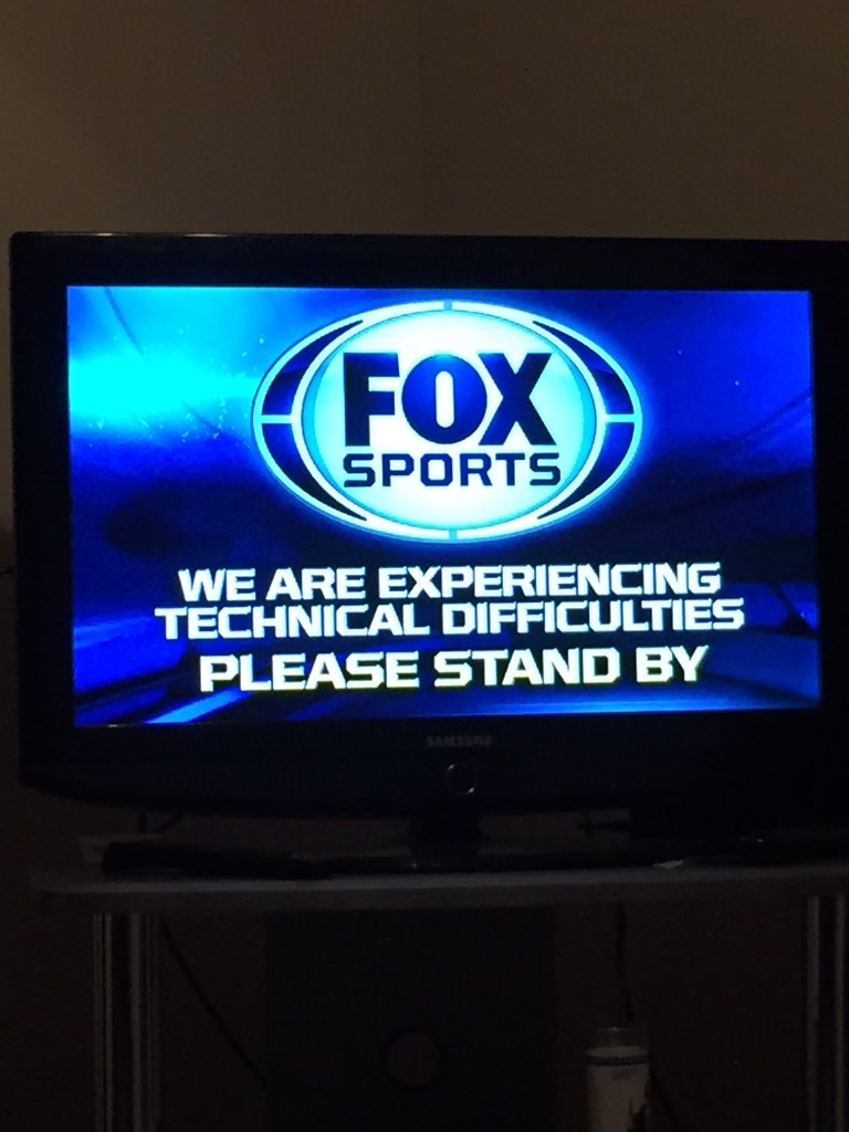 Really, @FOXSports?! Now during the World Series? #LGM https://t.co/9d8nEXRIVa