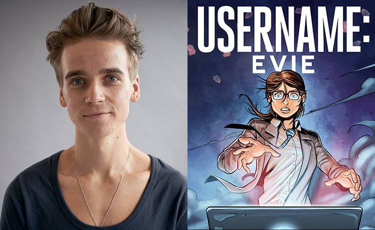 "The busy @Joe_Sugg talks his graphic novel ""Username: Evie"" and his film with @Caspar_Lee: https://t.co/tXGXYa8qPp https://t.co/oKPhkzK0iP"