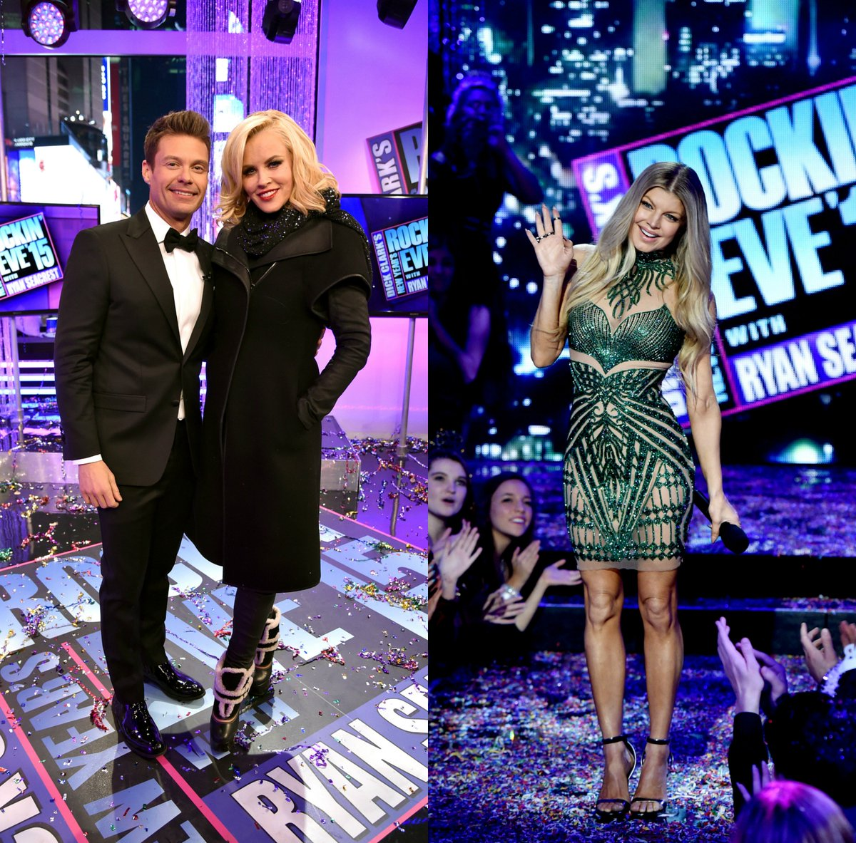 RT @OfficialNYRE: GET READY! @RyanSeacrest​, @JennyMcCarthy and @Fergie​ are back to HOST Dick Clark's New Year's #RockinEve 2016! ???? https:…