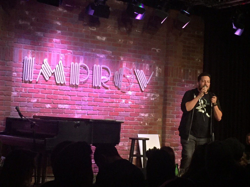#impracticaljokes has hit the stage!! @SalVulcano https://t.co/ViQNilFPay