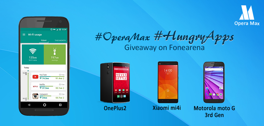 Join us for our #OperaMax #HungryApps contest & win smartphones https://t.co/7jxNO5x81J https://t.co/dfz0t2yd3U
