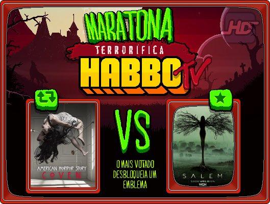III Duelo da Maratona Terrorífica HBTV: RT p/ American Horror Story / FAV p/ Salem! 18hBR/20hPT sai o resultado! https://t.co/vidlTeVqit