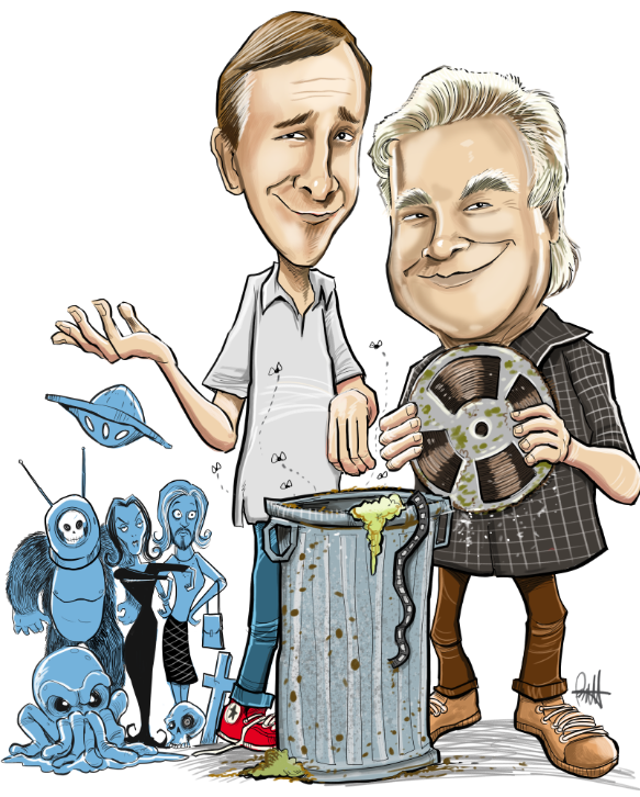 The Mads are Back! A Jack Davis inspired poster image I did for my friends @FrankConniff and @TraceBeaulieu: https://t.co/6OZiMy8ViT
