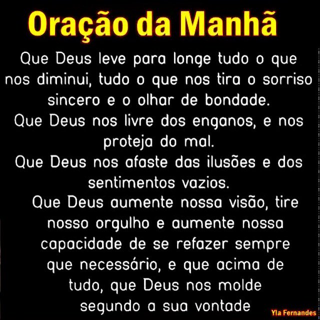 Well-known Prayer of the morning - oração da manhã #fé #amor #forca  WK44