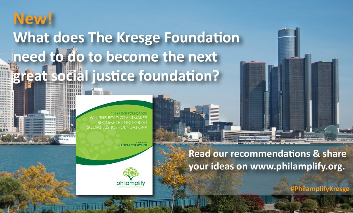 Will @kresgefdn become the next great #socialjustice #foundation? https://t.co/3ryo2Az7lb #philamplify #Detroit https://t.co/5w4J2Qufon