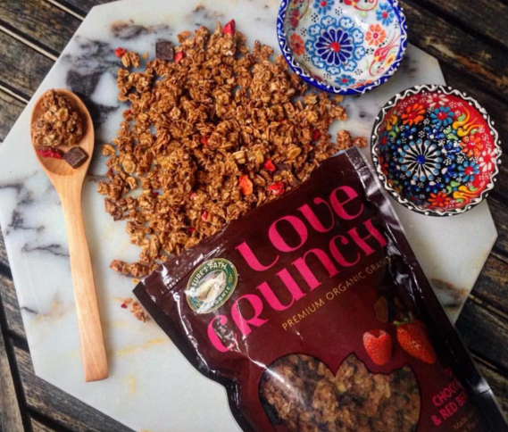 It's #NationalChocolateDay! RT & tell us why you love Chocolate for a chance to win a bag of Love Crunch granola https://t.co/Q1gADYPJDf