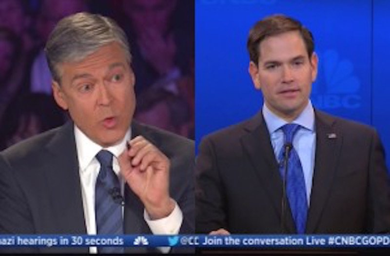 CNBC's Harwood Attacks Rubio With Talking Point He Admitted Was Wrong Weeks Ago https://t.co/t3F3QBjHkq #GOPDebate https://t.co/RIKm2hKbTo