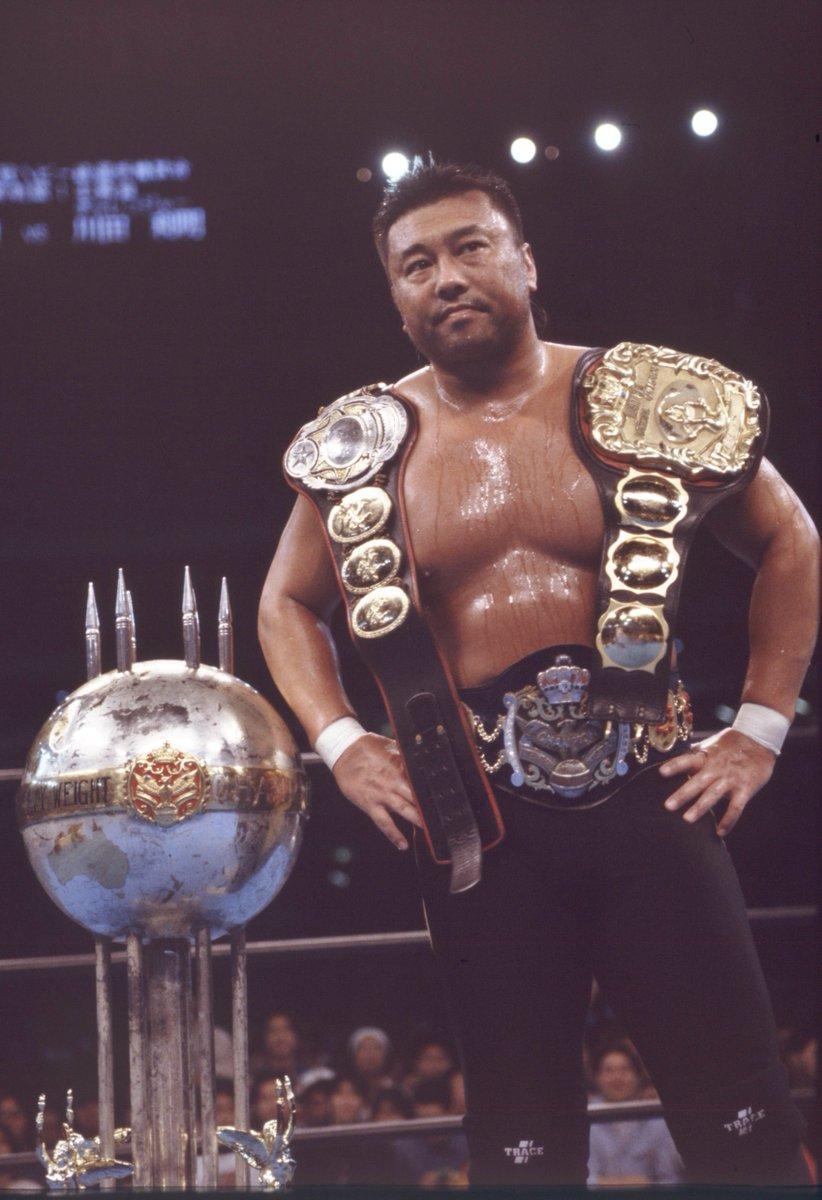 【デンジャラスKが復活!!】NWA本部は記念すべき250回目の防衛戦として、元三冠ヘビー級王者の川田利明(51)を挑戦者に指名。師匠・天龍源一郎の引退前に何を語るか注目だ。試合は11月4日未明。(番記者)#美獣 https://t.co/OMoVFaTgGv