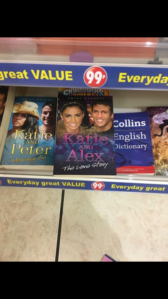 Couldn't be more proud!  Me & @MrPeterAndre have made it to the top shelf in the 99p shop