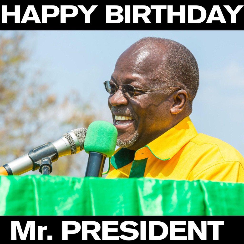 Magufuli wins Presidency on his birthday with 58.46%. Lowassa gets 39.97%. Turnout 67%. #TanzaniaDecides https://t.co/UVBff7z29W