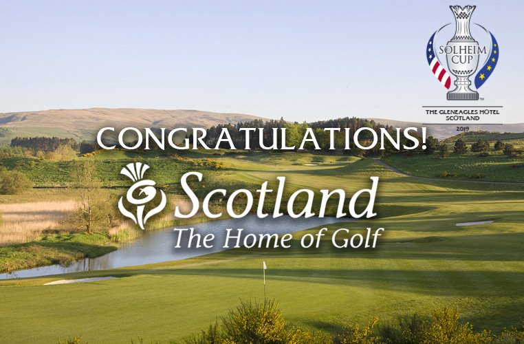 We are delighted to announce that Scotland will host #SolheimCup2019 @Gleneagleshotel https://t.co/5xkaxkxxOO https://t.co/PhqAn2I5tS