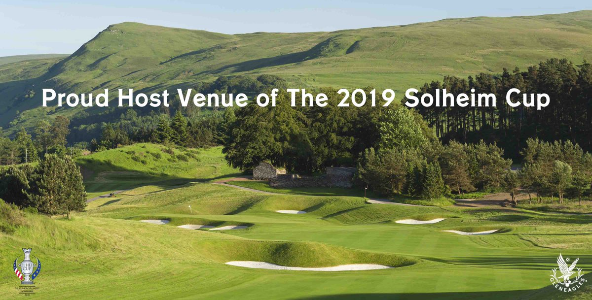 We are delighted that Gleneagles has been chosen as The Host Venue for The 2019 Solheim Cup! #Scotland2019 https://t.co/0RkZTuVbS8