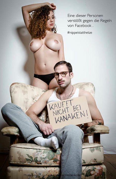 RT : #NippelstattHetze: Nacktbild-Protestaktion gegen Hasskommentare bei Facebook uzjcPnE4Kq