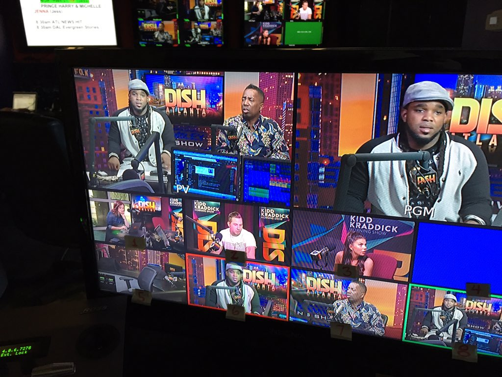 Shooting today's @DishNation ...so many cameras to choose from... https://t.co/CtmSAQiw0B