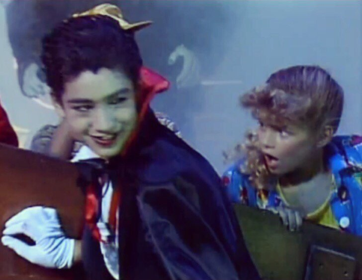 RT @MarioLopezExtra: #TBT   My girl @Fergie & I in a Halloween episode of 'Kids Incorporated' https://t.co/msoyqUnTBa