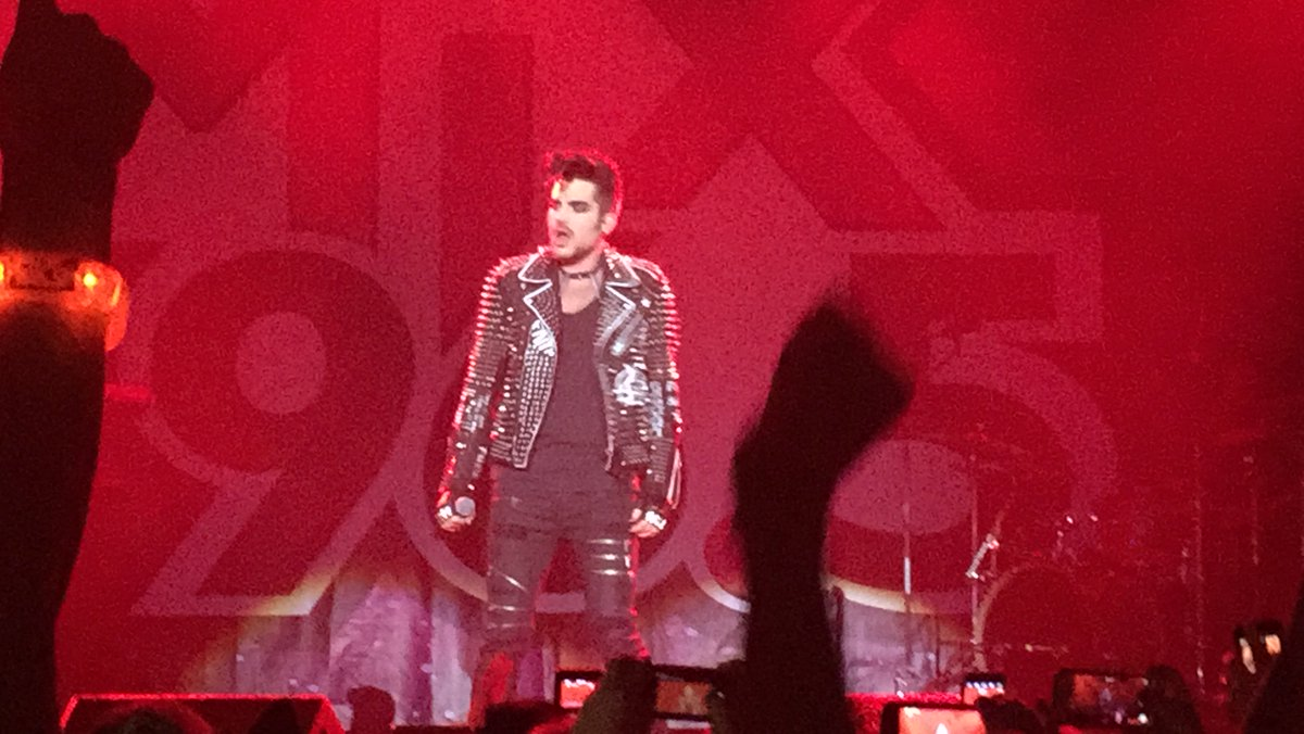 @adamlambert performs at @Mix965Houston Ghost Town show at @reventioncenter #MIXGhostTown https://t.co/YzJunmuPkH https://t.co/DstGP1arra