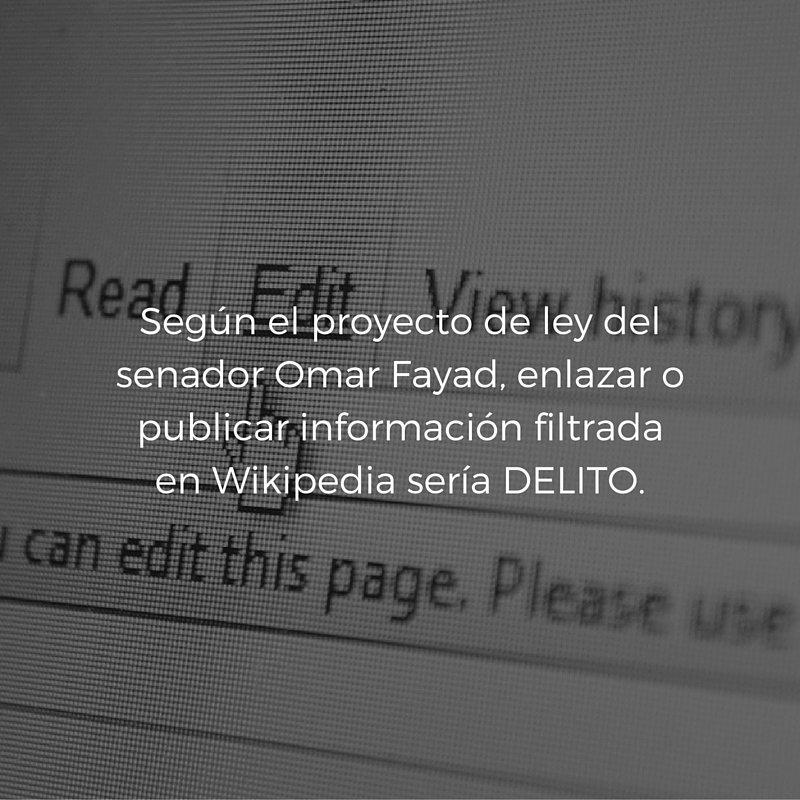 Esta es una de las razones por las que la #LeyFayad es dañina para internet.  https://t.co/9yyEvu4aKJ https://t.co/ngWDtyRpkT